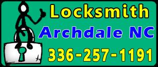 Locksmith-Archdale-NC
