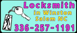 Locksmith Winston Salem, NC 336-257-1191